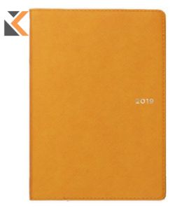 Collins MLB6U451 Melbourne B6 Yellow Notebook
