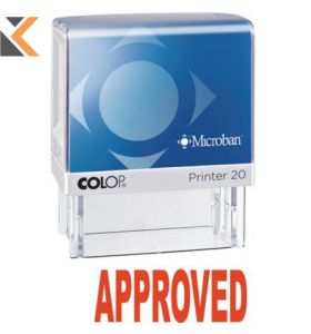 Colop Appr Self-Inking Stamp - [P20Mb]