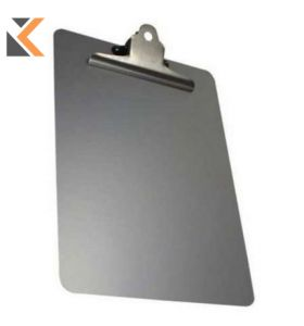 Detectable S/Steel A4 Clipboard Portrait