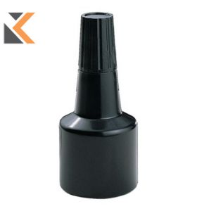 Dormy Replacement Stamp Pad Ink Bottle Black - [28ml]