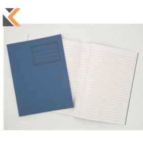 Exercise Book 8mm Feint Margin Cover Dark Blue - [Box of 25]