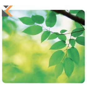 Fellowes 59038 Earth Series Mouse Pad - [Leaves Design]
