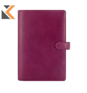 FILOFAX FINSBURY PERSONAL ORGANISER RASPBERRY - [WEEK TO VIEW]