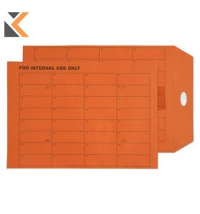 Orange-C5 Intertac Seal Internal Mail 85Gsm Envelopes - [Box Of 500]