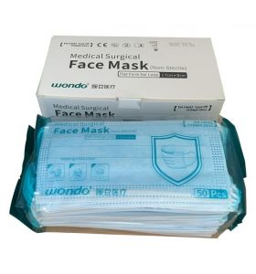 IIR Wondo medical face mask pack of 50