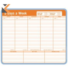 Knock Knock 5 Days A Week Mousepad Paper