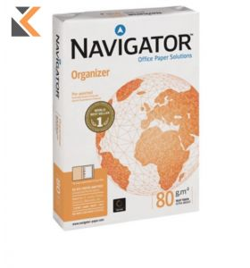 Navigator Organiser-A4 4 Hole Punched - [Ream Of 500 Sheets]