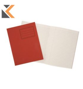 Oxford Exercise Book 8mm Margin Red - [Pack of 25]