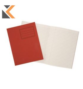 Oxford Exercise Book Margin Red Pack of 25 - [8mm]
