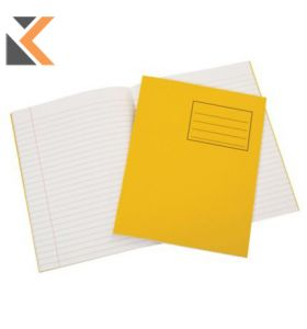 Oxford Exercise Book  Margin Yellow - [8mm]