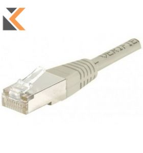 Patch Cable RJ45 FTP Cat5.E 10 Metres - Grey