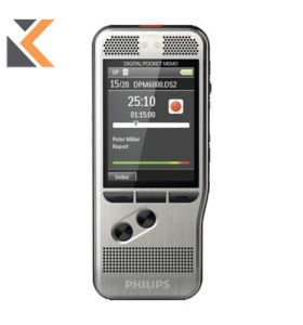 Philips - [DMP6000] Pocket Memo Digital Dictation Machine