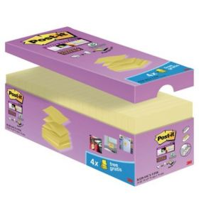 Post It R330-SSCY-VP20 Super Sticky Znote 76X76 - [Pack of 20]