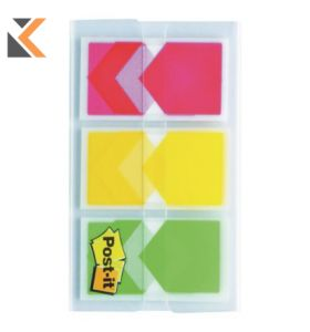 Postit Arrow Index 23.8X43.1mm Red/Yellow White/Green - [Pack of 3]