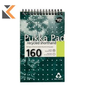 Pukka Recycled Shorthand Notebook - [Pack of 3]