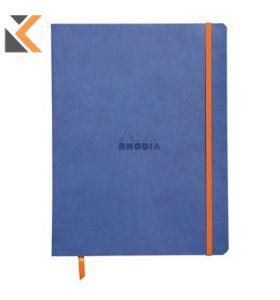 Rhodia Soft Cover Notebook Sapphire - [190x250mm]