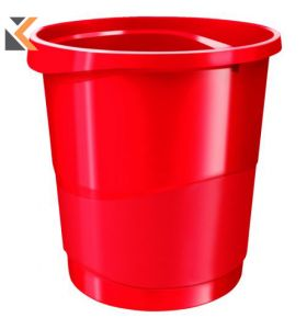 Rexel Choices - [14 Litre] Waste Bin Red