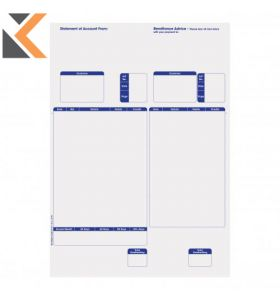 Sage-Compatible Statement Forms A4 Laser 1 Part - [Box Of 500]