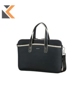 Samsonite Nefti Bail handle Bag 15.6 - [Black & Sand]