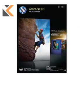 HP-Advanced Glossy Photo A4 Paper  Q5456A - [Pack Of 25 Sheets]