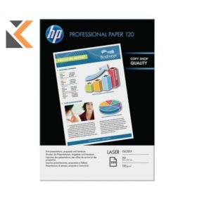 HP-Cg964A Glossy Laser Photo White  A4 Paper 120Gsm - [Pack Of 250 Sheets]
