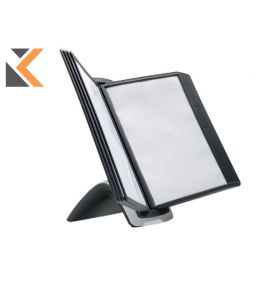 Durable Sherpa Style Table 10 Display Panel Black System