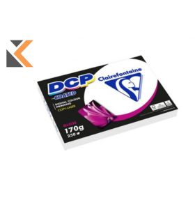 Clairefontaine-Dcp Coated Glossy White Paper A4 170Gsm - [1 Ream Of 250 Sheets]