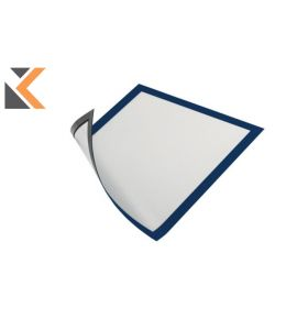 Durable Duraframe A4 Blue Magnetic - [Pack of 5]