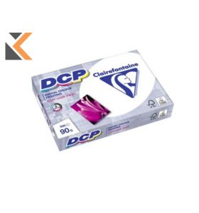 Clairefontaine Dcp-White Paper A4 90 Gsm - [1 Ream Of 500 Sheets]