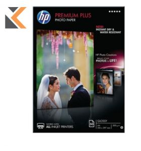 HP-Advanced Glossy Photo Paper A4 Cr674A - [Pack Of 50 Sheets]