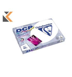 Clairefontaine Dcp-White  Paper A4 80Gsm- [1 Ream Of 500 Sheets]