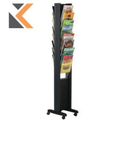 Paperflow Literature Display Stand - 16 Compartments For Documents A4