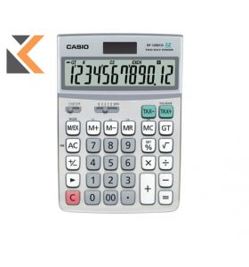 Casio - [DF-120] Eco Desk Calculator