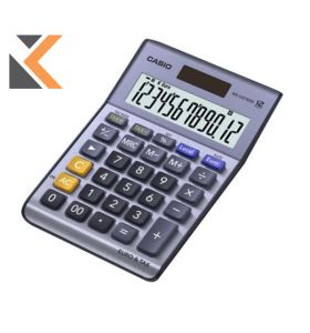 Casio MS-120TER II Desk [12-Dig] Calculator
