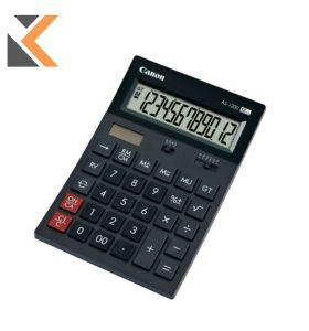 Canon AS-1200 [12-Digit] Desktop Black Calculator