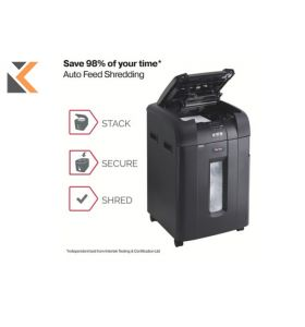 Rexel Shredder Auto Feed 600X Cross Cut P4 - [600 Sheet] Shredder