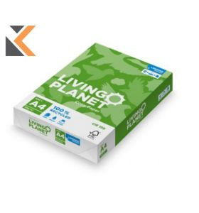 Lenzing Living Planet-A4 Paper 80Gsm White - [Box Of 5 Reams]
