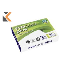 Evercopy-Plus Recycled Paper A4 80 Gsm White - [1 Ream Of 500 Sheets]