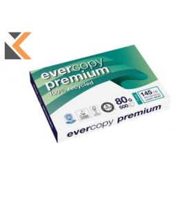 Evercopy Premium Recycled A3 Paper 80 Gsm - [1 Ream Of 500 Sheets]
