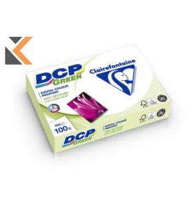 Clairefontaine Dcp-Green Recycled White Paper A4 100 Gsm - [1 Ream Of 500 Sheets]