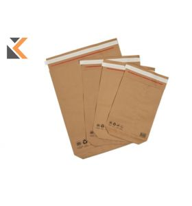 BOX OF -  50 KRAFT MAILBAG P/S - [600X480X80MM] - BROWN