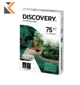 Discovery-White Paper A4 75Gsm - Box Of 5 Reams - [2500 Sheets]