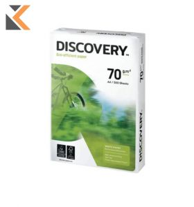 Discovery-White Paper A4 70 Gsm  - Box Of 5 Reams [2500 Sheets]