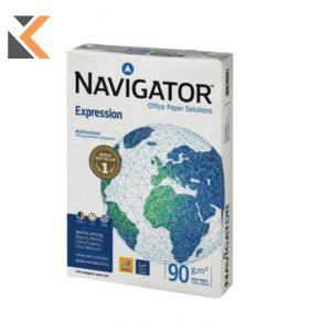 Navigator Expression-White Paper A4 90Gsm - [Ream Of 500 Sheets]