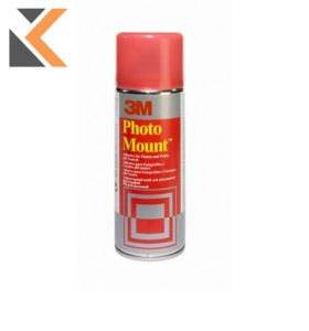 3M-Photo Mount - Aerosol Spray Adhesive For Permanent Mounts Can - [400ml]