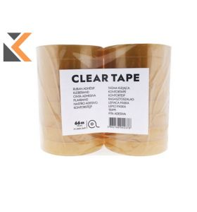 Clear Tape 19mmx66M - [Pack of 16]