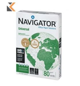 Navigator Universal-White Paper A3 80Gsm  - [Ream Of 500 Sheets]