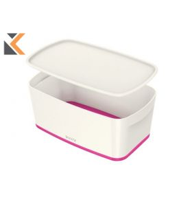 Leitz Mybox Small With Lid, Storage Pink Box - [5 Litre]