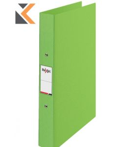Rexel Choices A4 Ring Binder, 2 O-Ring, Green - [25mm Spine]