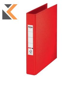 Rexel Choices A5 Ring Binder, 2 O-Ring, Red - [25mm Spine]
